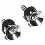 50800 Peavey Chrome Strap Button, set of 2
