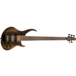 3572640 Peavey Grind 5 String Neck-through Electric Bass, Natural