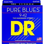5259 DR PHR-9 Pure Blues Nickel Rd Core Electric Guitar Strings, .009-.042