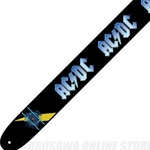 "Perri Leather 5535 Perri's P25ACDC-6027 2.5"" ACDC Leather Guitar Strap"