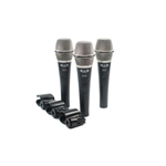 5287 Cad D32 X 3 Dynamic Microphones, 3 Pack
