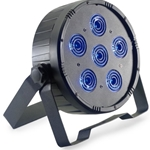 STAGG 6127 Flat ECOPAR 6 spotlight with 6 x 12-watt RGBWAUV (6 in 1) LED