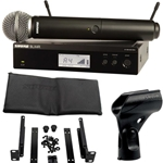 3208 Shure BLX24R/SM58-H10 Wireless Rackmountable Microphone System