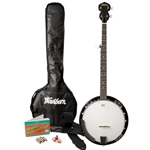 3452 Washburn B8K-A  5 String Banjo Pack