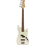 0144053505 Fender Mustang PJ Bass - Olympic White with Pau Ferro Fingerboard