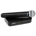 7788 Shure BLX24/SM58 (Band J10) Wireless Microphone System