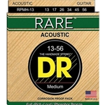 4698 DR RPL-10 Strings Rare Phosphor Bronze Lite Acoustic Guitar Strings