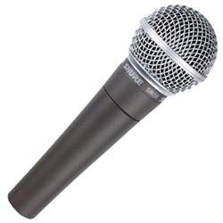 SM58-LC Shure SM58LC Dynamic Vocal Cardioid Microphone