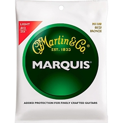 MA5025 Martin MA140S Marquis 80/20 Bronze Acoustic Guitar Strings .012/.054