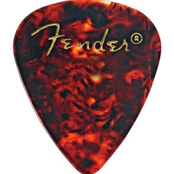 980351700 Fender Classic Celluloid Thin Picks, 12 Pack