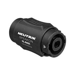 5673 Hosa NL4MMX Neutrik Speakon x Speakon Connector