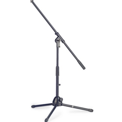 STAGG 6132 Low profile 2-section microphone stand with folding legs